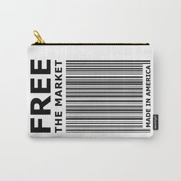 Free The Market Carry-All Pouch