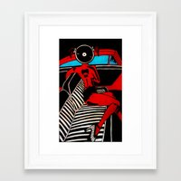 zappa Framed Art Prints featuring Zappa chic  by BundaVaga