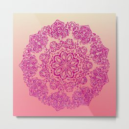 Joie de Rose Metal Print