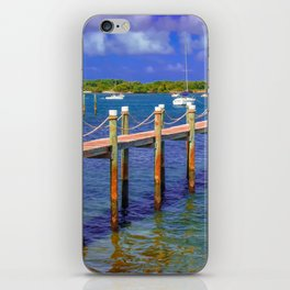Boat Ramp To Paradise iPhone Skin