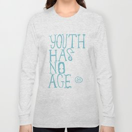 Youth Has No Age (Blue) Long Sleeve T-shirt