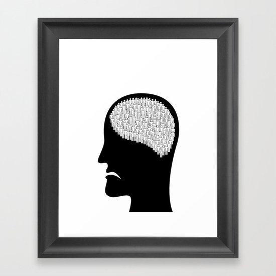 Self less Framed Art Print