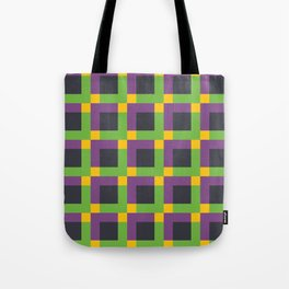 Overlapping Squares II Tote Bag