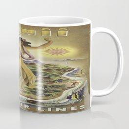 Vintage poster - Hawaii Coffee Mug