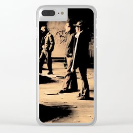 Following the Leader Clear iPhone Case