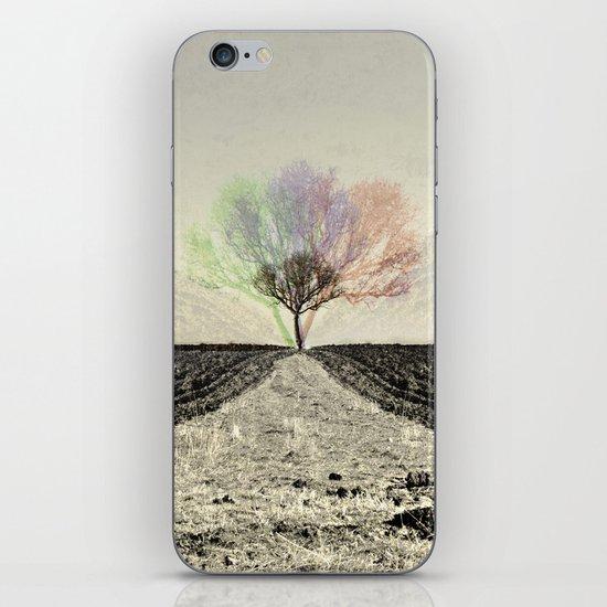 RGB Tree iPhone & iPod Skin