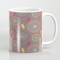 dreamcatcher Mugs featuring Dreamcatcher by Rosie Simons