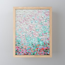 Weeping Cherry Field Framed Mini Art Print