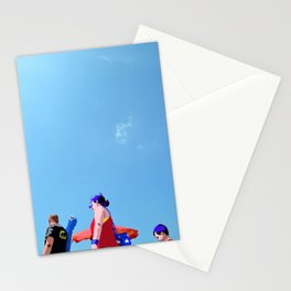 Super...on the beach Stationery Cards