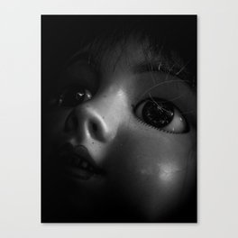 Dolly in The Attic Canvas Print