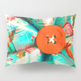 LIZ SELLEY ART ORIGAMI TROPICANA DESIGN Pillow Sham