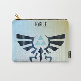 The Legend of Zelda - Hyrule Rising Poster Carry-All Pouch