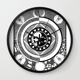 Infinity of Two Wall Clock