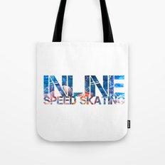 Inline Speed Skating Tote Bag