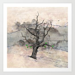 Jake's Tree Art Print