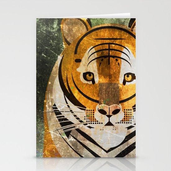 Tiger 2 Stationery Cards