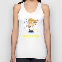 doctor Tank Tops featuring Doctor by Alapapaju