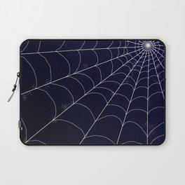 Spiderweb on Midnight Laptop Sleeve