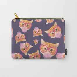 Bubblegum Cat Carry-All Pouch
