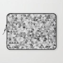 Grey triangle pattern Laptop Sleeve