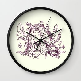 Maiden of Ice Wall Clock