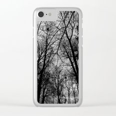 Trees at Mottisfont Clear iPhone Case