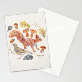 Winter Wildlife - Neutral Stationery Cards