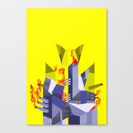 Impossible Architecture  Canvas Print