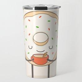 donut loves holidays Travel Mug