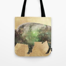 Surreal Buffalo Tote Bag