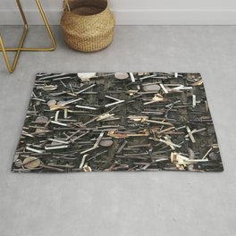 Staples and Nails it! Rug