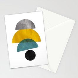 Modern Mid-Century 28 Stationery Cards