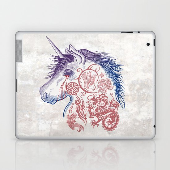 War Unicorn Laptop & iPad Skin