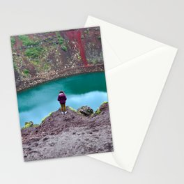 Kerid Crater Stationery Cards