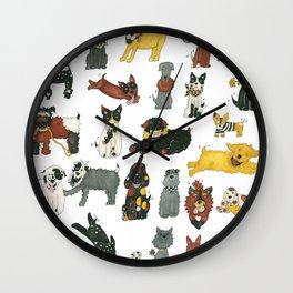 Resce Dogs Wall Clock