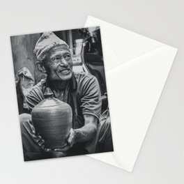 The Locals of Kathmandu City 001 Stationery Cards