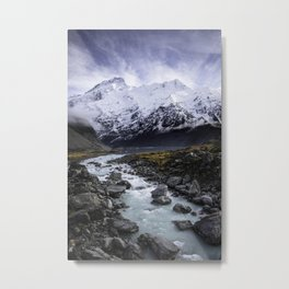Mount Cook Metal Print
