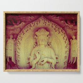 Fire Within. Hong Kong deity Serving Tray