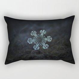 Real snowflake - Ice crown Rectangular Pillow