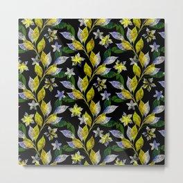 Floral pattern . Metal Print