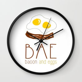 The Bae Wall Clock