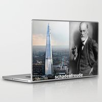 freud Laptop & iPad Skins featuring Schadenfreude by Mr Shins