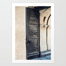 Castle Door Art Print