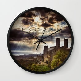 Escape to the Heavens Wall Clock