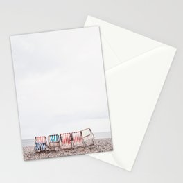 Stuff chairs beach Stationery Cards