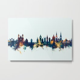 Lucerne Switzerland Luzern Skyline Metal Print