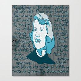 Sylvie Blue Canvas Print