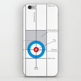 The spirit of Curling iPhone Skin