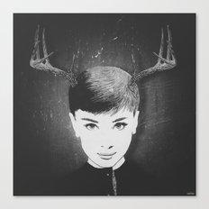 Bambi Hepburn (filter) Canvas Print