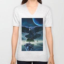 Raven Love Unisex V-Neck